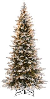 9ft pre lit slim tree images pictures