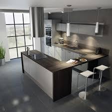 meuble cuisine gris clair awesome meuble de cuisine gris laque contemporary awesome