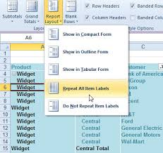How To Remove Pivot Table Excel How To Use Pivot Table Labels