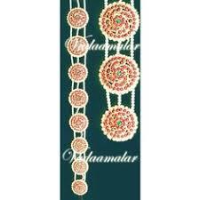 and green chutti bharatanatyam bridal ornaments kemp