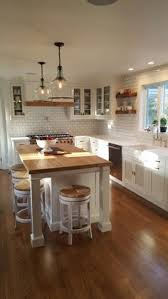Kitchens And Cabinets Farmhouse Kitchens Black And White Pendants And Modern Farmhouse