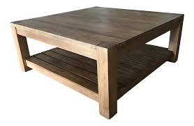Used Coffee Tables by Crate And Barrel Edgewood Square Coffee Table Chairish
