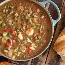 lot of 6 gumbo soup seafood gumbo louisiana cookin