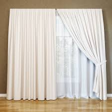 modern curtain and tulle 3d model max fbx