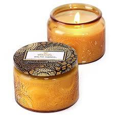 voluspa baltic small glass jar candle candle delirium