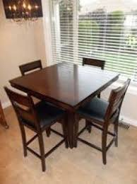 pub style tables and chairs foter