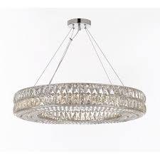 Contemporary Lights Ceiling Spiridon Ring Chandelier Modern Contemporary Lighting