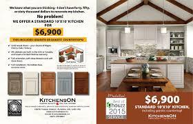 a standard 10 u0027 x 10 u0027 kitchen including granite or quartz