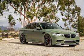 matte white bmw if anything a matte military green bmw m5 is certainly different
