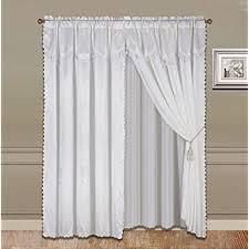 Sheer Curtains With Valance Sheer Curtain Valance Sets