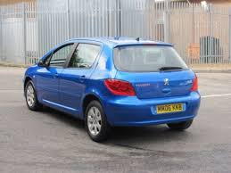 blue peugeot for sale used peugeot 307 2006 petrol blue automatic for sale in epsom uk