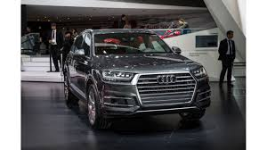 audi suv q7 interior smarter lighter more spacious audi q7 debuts in detroit