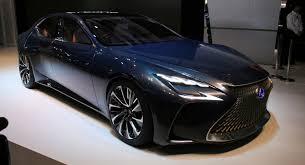 future lexus cars hydrogen powered lexus lf fc concept previews ls flagship