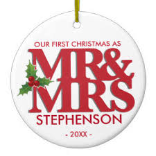 married ornaments keepsake ornaments zazzle