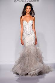 pnina tornai gown kleinfeldbridal pnina tornai bridal gown 33267444 mermaid