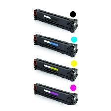 Excepcional Kit Toner CB540A CB541 CB542 CB543 Preto e Colorido Compatível 100  @YQ88