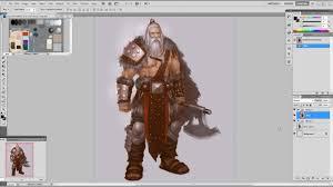 character design barbarian tutorial by xia taptara