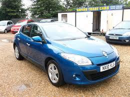 used renault megane dynamique manual cars for sale motors co uk