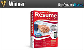Winway Resume Deluxe 2017 Best Resume Software Reviews Top Rated Resume Software