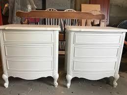 romantic nightstands metalic u0026 dry brush painting entri ways