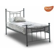 Black Metal Bed Frame Sareer Bristol Black Metal Bed Frame