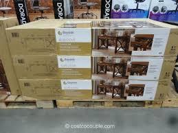Computer Desk Costco Bayside Computer Desk Costco Tandemdesigns Co