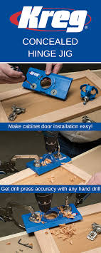 Cabinet Door Hinge Jig The Concealed Hinge Jig Takes The Guesswork Out Of Installing