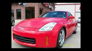 nissan finance defer payment 2008 nissan 350z 2dr cpe auto enthusiast red gray 62 149 miles
