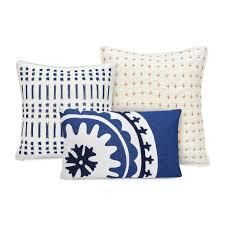 amalfi stripe embroidered ikat decorative pillow u2013 under the canopy