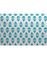 Ikat Outdoor Rug Big Deal On E By Design Ikat U0027s Meow Geometric Print Blue Indoor
