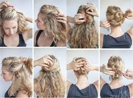 Hochsteckfrisurenen Lockige Haare by Die Besten 25 Natürliche Lockige Hochsteckfrisur Ideen Auf