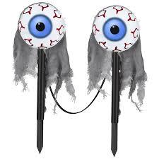 shop gemmy 2 marker white led battery operated eyes halloween