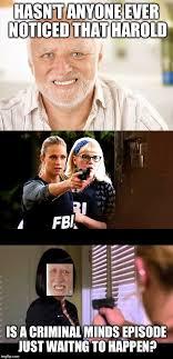 Criminal Minds Meme - criminal minds season finale the hider imgflip