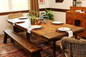 rustic industrial dining table chic hampshire furniture completed