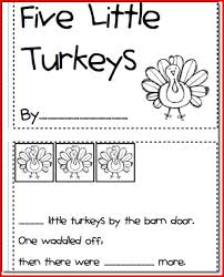printable thanksgiving activities for preschoolers