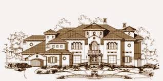 Luxurious House Plans Luxury Style House Plans Plan 19 940