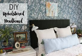 diy upholstered headboard thewhitebuffalostylingco com