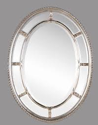 silver oval bathroom mirror best bathroom decoration