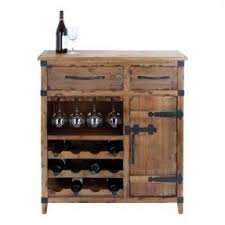Rustic Bar Cabinet Rustic Wine Cabinets Foter