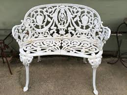 Antique Cast Iron Patio Furniture Cast Iron Patio Furniture Outdoor Vintage Wrought In Dining Set