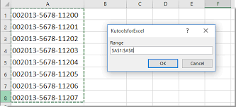 how to quickly remove dashes from cells in excel