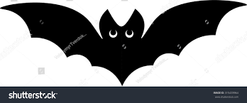 black and white halloween background silhouette vector silhouette illustration one drawn black stock vector