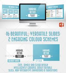26 minimal presentation templates u2013 design freebies