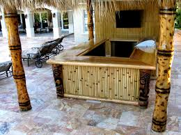 How To Make Tiki Hut Diy Tiki Bar Ideas Home