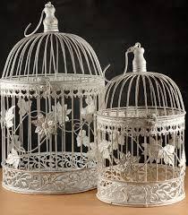 large decorative bird cages birds of prey