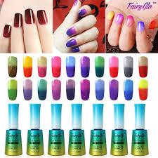 amazon com fairy glo pick any 6 colors gel nail polish uv led