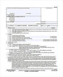 community petition community property petition 8 community