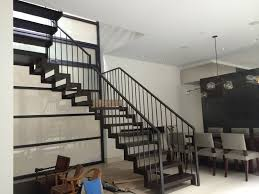 Indoor Railings And Banisters Chicago Indoor Wrought Iron Railings Handrails Contractor