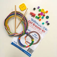 bracelet kit images Twisteezwire coil bracelet kit craft wire project for kids kid jpg