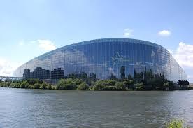 si e du parlement europ n architecture studio le parlement européen de strasbourg lankaart